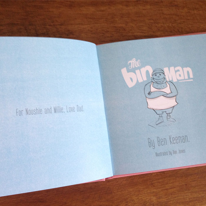 A bedtime story turned into a book for my daughters