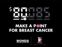 Make a point for breast cancer